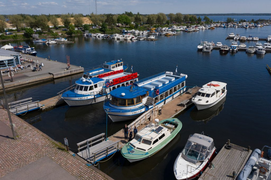 Alukset Sapokassa