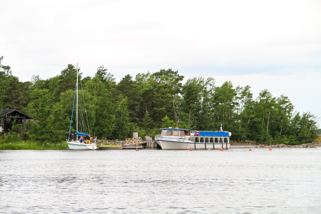 Vikla-alus Ulko-Tammiossa