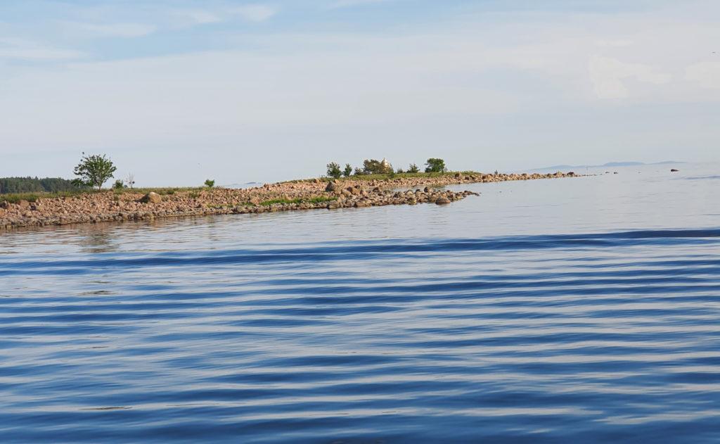Merimaisemaa Sapokasta