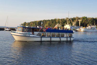 Vikla-aluksen kyydissä
